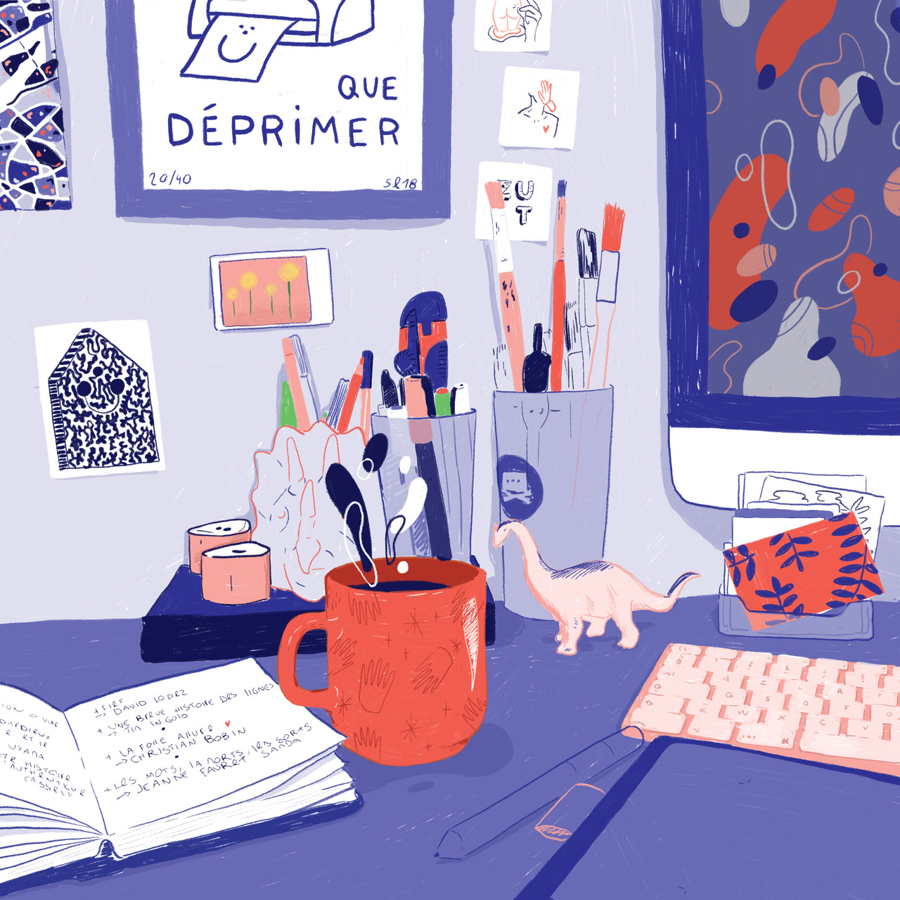 illustration Melanie Beguier - MLNBGR